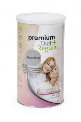 Premium Diet Regular + Sensitive vaníliás-mandulás ízű